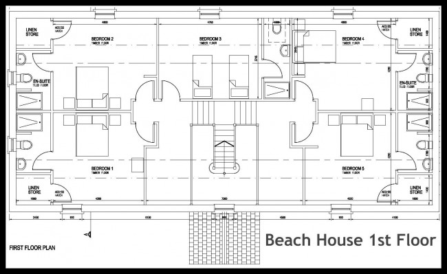 Beach House - first Floor